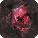 North America and Pelican Nebula in HOO,                                nerdybeardo