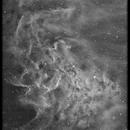 IC405 Flaming star,                                Andre van der Hoeven