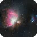 Orion and a man running away from it,                                AnttiJii