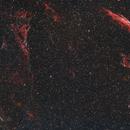The Veil Nebula Complex - using my DUO filter,                                  Simon