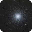 Messier 3 - Globular cluster,                                Komet
