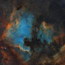 NGC7000 Mosaic,                                Hsms
