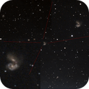 A look at Antennae Galaxy   /  NGC4038 and NGC4039  90mm telescope,                                Vítor de Oliveira Silva