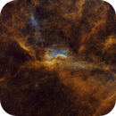 DWB111 and DWB119 in Narrowband plus RGB stars,                                Uwe Deutermann