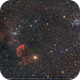 IC-443 and Messier-35 in company of asteroids,                                Okke_Dillen
