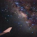Milky Way on board a 747, over the Atlantic Ocean,                                Alessandro Merga...