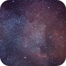 North America Nebula in visible light,                                Koen Dierckens