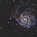 M101 - Celestron 8,                                  Arnaud Peel