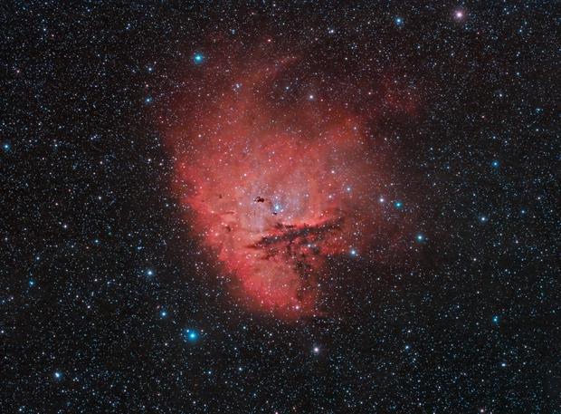 NGC281 First Light Esprit 150,                                Scott Tucker
