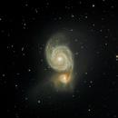 M51 Whirlpool Galaxy,                                Mark Eby