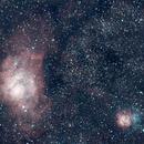 Nebulosa da Lagoa e Trífida,                                dvd.cabral