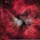 Eta Carinae nebula  (NGC 3372)  HaRGB,                                Leandro Fornaziero