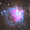 M42 Orion Nebula & Sh2-279 Running Man,                                Michael Southam