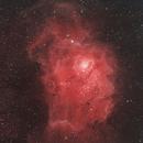 m8 lagoon nebula in HSS,                                John Mart