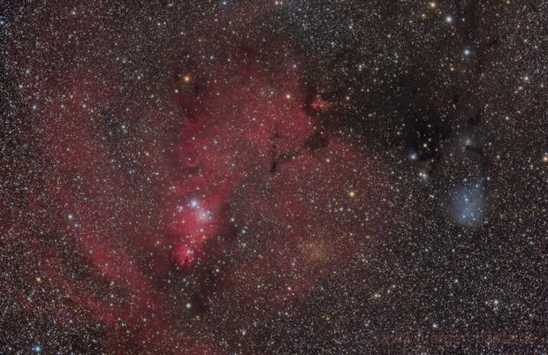 NGC 2264 and IC 2169,                                Jenafan