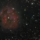 Cocoon Nebula, a LRGB test picture,                                  Niels V. Christensen