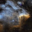 Pelican Nebula,                                Mte1022