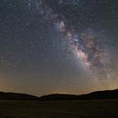 Milky Way from Little Blair Valley,                                Dan Watt