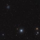 Globular clusters NGC 5053 and M53,                                Alberto Pisabarro