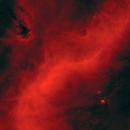 Barnard's Loop Near M78 in Starless Ha,                                Jim Lindelien