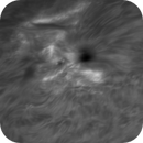 C-class flare in AR 2822 (animation),                                GreatAttractor