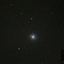 M13 - Hercules Globular Cluster,                                Valerio Campobasso