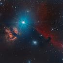 Flame and Horse Head Nebulae,                                Isonicrider