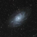 M33 LHaRGB,                                Padraic Moran