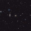 Draco Triplet of galaxies,                                Stellario