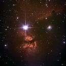 IC 434 et NGC 2024 - Nébuleuse de la Flame et de la Tête de Cheval,                                Sébastien Chouet