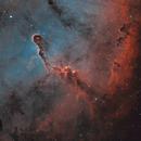 IC1396 Elephant Trunk Nebula - SHO composition,                                Andrei
