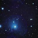 M45 The Pleiades Cluster,                                Joe Gilker