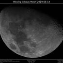 Waxing Gibous Moon 2019-04-14,                                Brice Blanc