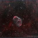 NGC6888 - Crescent Nebula,                                starhopper62