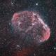 Crescent nebula NGC 6888,                                dr_klahn
