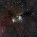 M78 and part of Benard's loop,                                Po-Liang, Cheng
