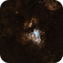 M17 - Omega Nebula in SHO,                                nerdybeardo