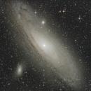 M31 Andromeda Galaxy,                                Ray Heinle