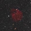 SH2-302 Snowman nebula,                                Steve de Lisle