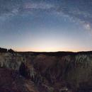 Milky Way over Yellowstone Canyon,                                Jeff Ball
