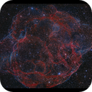 Simeis 147 - The Spagetti Nebula HaOiii,                                Göran Nilsson