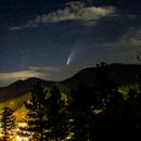 NEOWISE over Idaho Springs, Colorado,                                Jim Nadeau