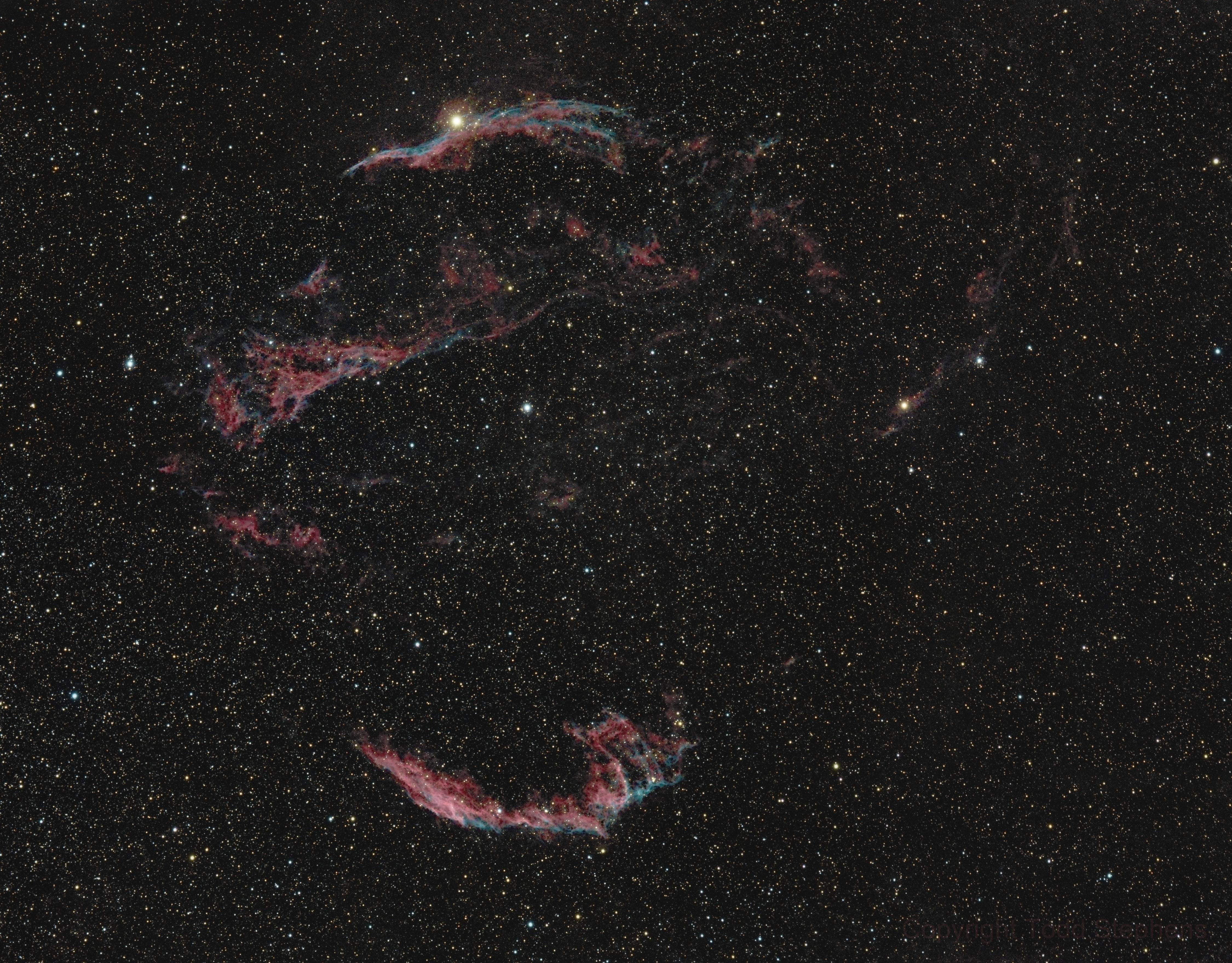 Veil Nebula Complex,                                FrostByte