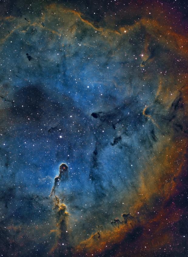 IC 1396 - Elephant Trunk,                                Adam Landefeld