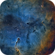 IC 1396 - Elephant Trunk,                                Adam Landefeld
