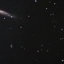 Gravitationally lensed quasar (and NGC 3079),                                pdfermat