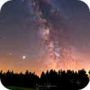 Milky Way, Swabian Forest,                                Björn Hoffmann