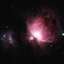 M42 Orion Nebula + Running Man Nebula,                                richbandit