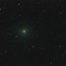 Comet Tuttle-Giacobini-Kresak passing near galaxy NGC 3448,                                Tony Cook