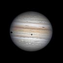 Jupiter Ganymede and shadow,                                chuckp